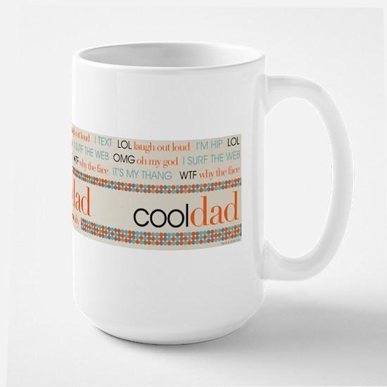 Modern Family Cool Dad Large Mug
