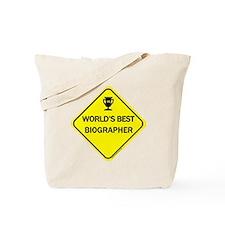 Biographer Tote Bag