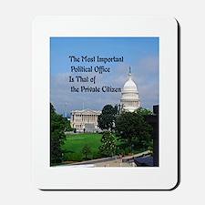 Political Office Mousepad