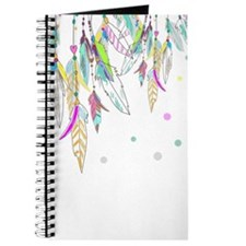 Dreamcatcher Feathers Journal