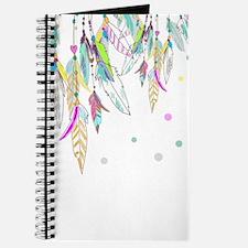 Dreamcatcher Feathers Journal