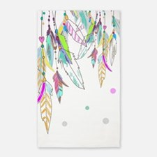 Dreamcatcher Feathers Area Rug