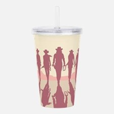 Cowgirls Acrylic Double-wall Tumbler