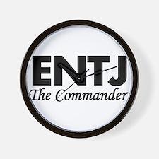 ENTJ | The Commander Wall Clock