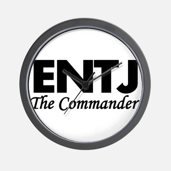 ENTJ | The Commander Wall Clock