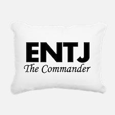 ENTJ | The Commander Rectangular Canvas Pillow