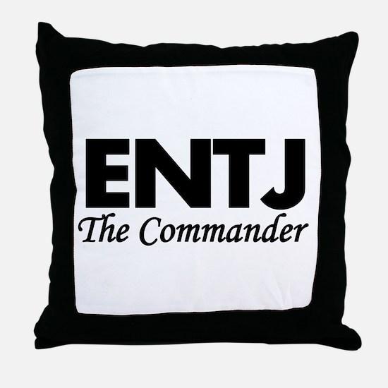 ENTJ | The Commander Throw Pillow