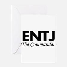 ENTJ | The Commander Greeting Cards