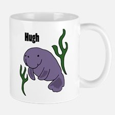 Hugh Manatee Art Mugs