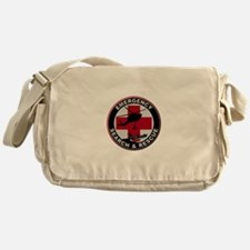 Emergency Rescue Messenger Bag
