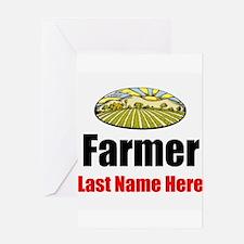 Farmer Greeting Cards