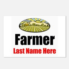 Farmer Postcards (Package of 8)