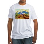AFTM Scottsdale Arabian Horse Fitted T-Shirt