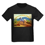 AFTM Scottsdale Arabian Horse Kids Dark T-Shirt