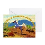 AFTM Scottsdale Arabian Horse Greeting Cards (Pk o