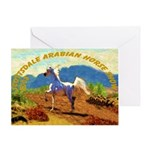 AFTM Scottsdale Arabian Horse Greeting Card