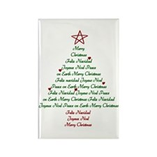 Christmas Tree Rectangle Magnet