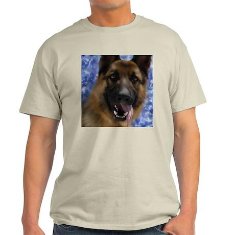 JoyfulGermanShepherd_Square T-Shirt