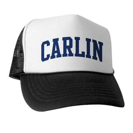CARLIN design (blue) Trucker Hat