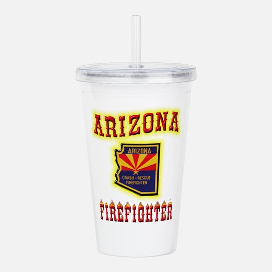 Arizona Firefighter Acrylic Double-wall Tumbler