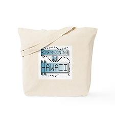 Blue Honeymoon Hawaii Tote Bag