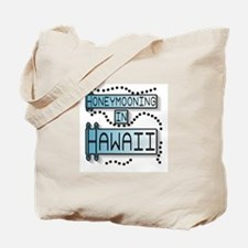 Blue Honeymoon Hawaii Tote Bag