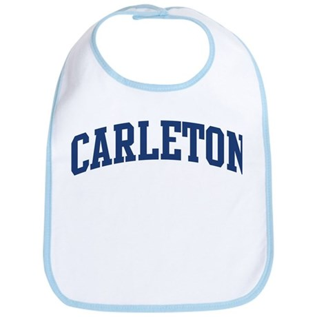 CARLETON design (blue) Bib