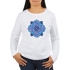 Blue Hanukkah Mandela T-Shirt