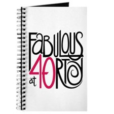 Fabulous at 40rty! Journal