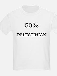50% Palestinian T-Shirt