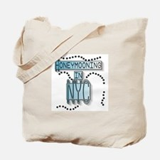 Blue Honeymoon NYC Tote Bag