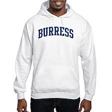 BURRESS design (blue) Hoodie