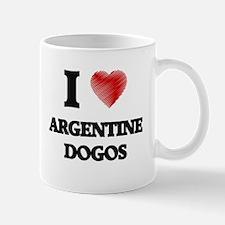 I love Argentine Dogos Mugs