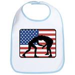 American Wrestling Bib
