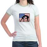 American Wrestling Jr. Ringer T-Shirt