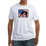 American Wrestling Fitted T-Shirt