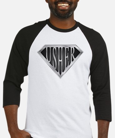 SuperUsher(metal) Baseball Jersey
