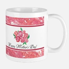 Mothers Day Rose Bouquet to Customize Mug