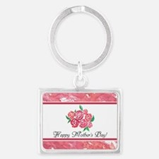 Mothers Day Rose Bouquet To Cus Keychains