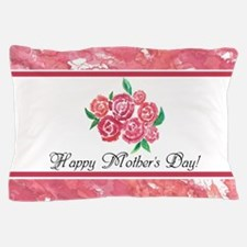 Mothers Day Rose Bouquet to Customize Pillow Case