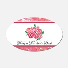 Mothers Day Rose Bouquet to Wall Decal