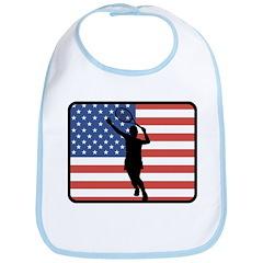 American Womens Tennis Bib
