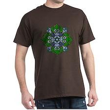 Green Hanukkah Mandela T-Shirt