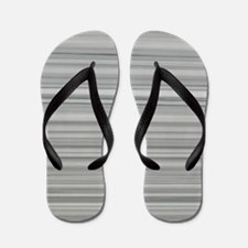 abstract grey marble lines Flip Flops