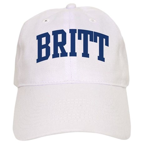 BRITT design (blue) Cap