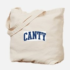 CANTY design (blue) Tote Bag
