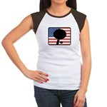 American Table Tennis Women's Cap Sleeve T-Shirt
