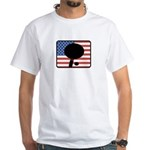 American Table Tennis White T-Shirt