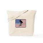 American Swimming Tote Bag