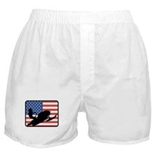 American Snowmobiling Boxer Shorts